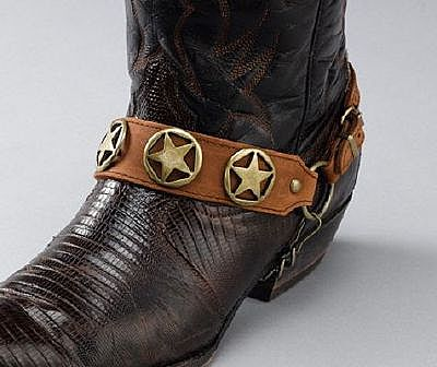 BC 088 Brown Antique Gold Stars