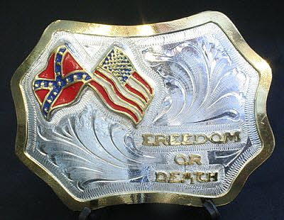 BULLHIDE Buckle Freedom or Death