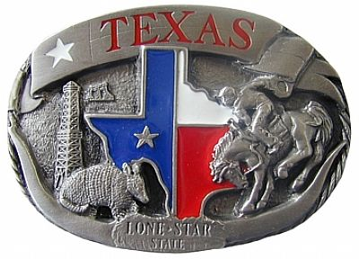"Texas Belt Buckle (3"" W x 2.25"" H)"